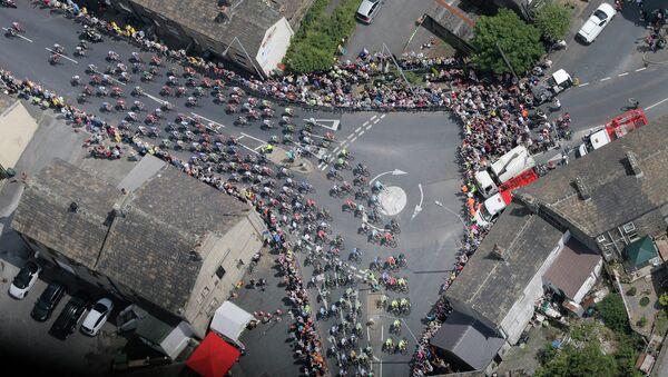 Велогонка Тур де Франс в Шеффилде. Архивное фото