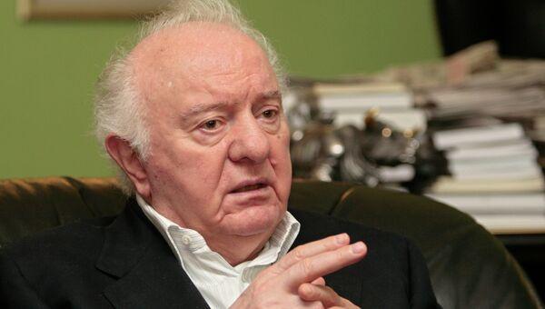 Политический и государственный деятель Эдуард Шеварднадзе