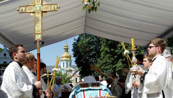 похороны митрополита Киевского Владимира