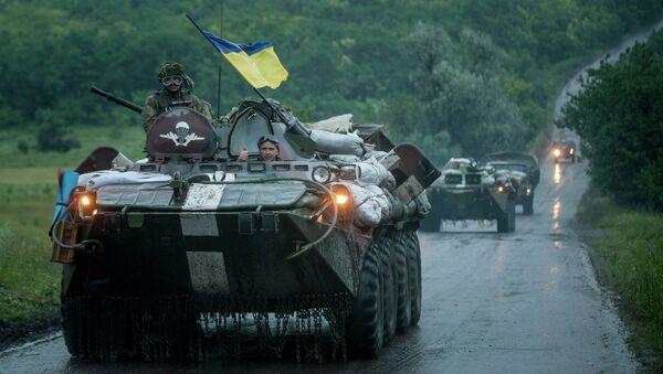Украинские правительственные войска