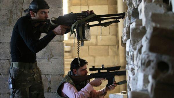 Боевики ведут бои в Сирии