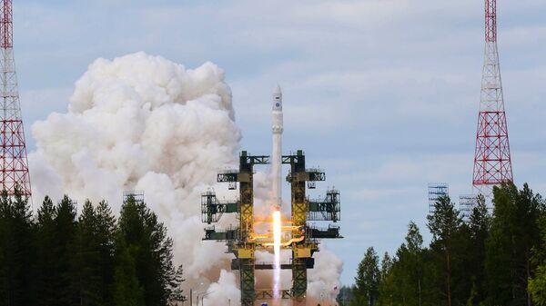 Пуск ракеты Ангара, архивное фото