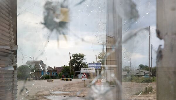 Ситуация на границе Украины и России. Архивное фото