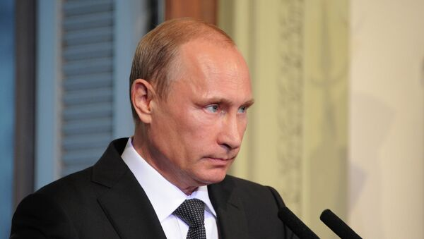 Президент России Владимир Путин в Аргентине