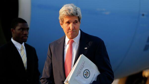 Госсекретарь США Джон Керри в Вене, где проходят переговоры шестерки с Ираном