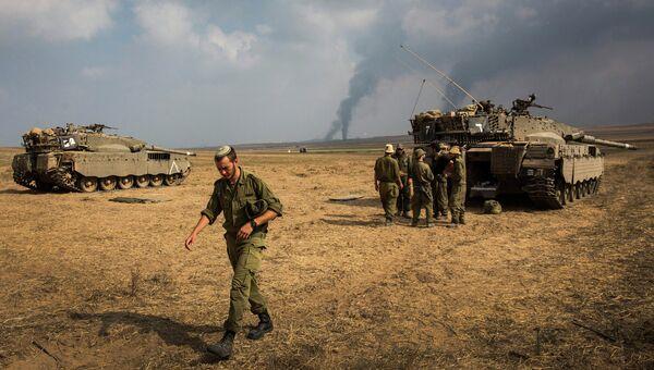 Солдаты израильской армии. Архивное фото