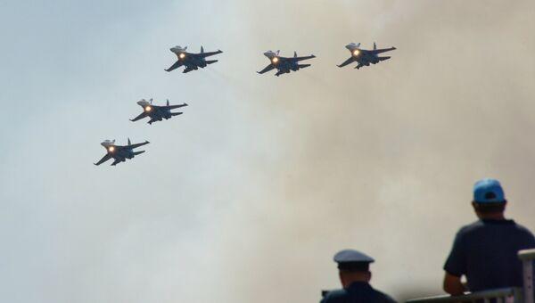 Международный конкурс воздушной выучки Авиадартс. Архивное фото