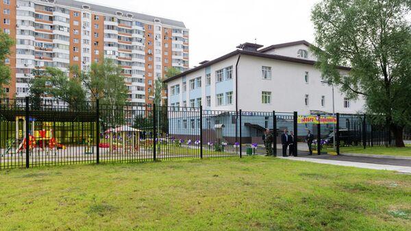 Посещение дошкольного отделения средней школы № 1474 (здание нового детского сада в районе Ховрино)