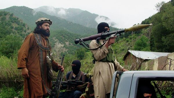 Члены движения Талибан в Южном Вазиристане, Пакистан