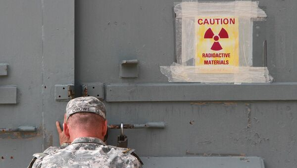 Военная база в Техасе, где хранится американское ядерное оружие