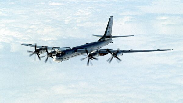 Стратегический бомбардировщик ТУ-95