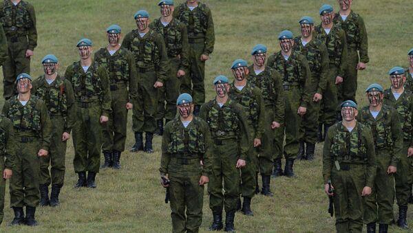 Военнослужащие воздушно-десантных войск РФ. Архивное фото