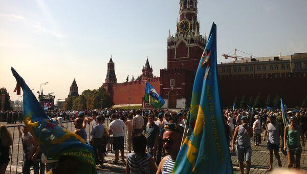 День Воздушно-десантных войск на Красной площади в Москве. Архивное фото
