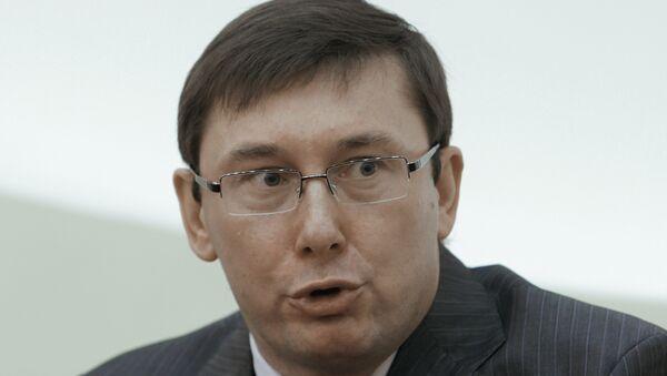 Советник президента Украины Юрий Луценко. Архивное фото