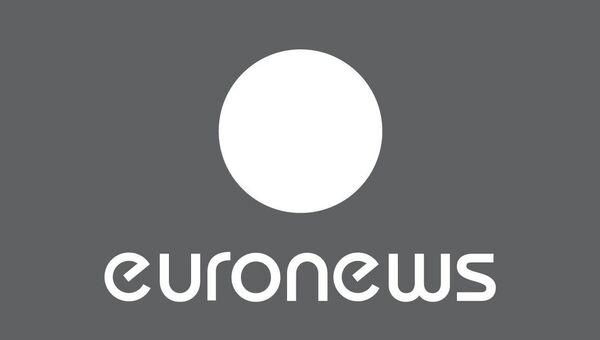 Логотип Евроньюс. Архивное фото