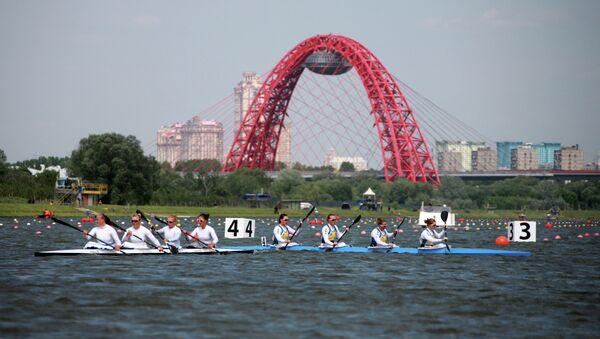 Вид на Живописный мост в Москве. Архивное фото