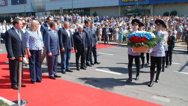 Открытие памятника героям Первой мировой войны в Липецке