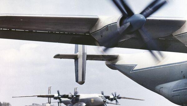 Самолет Ан-22. Архивное фото