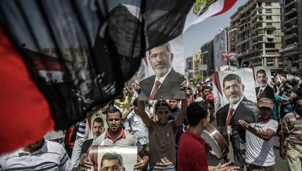 Сторонники резидента Египта Моххамеда Мурси. Архивное фото