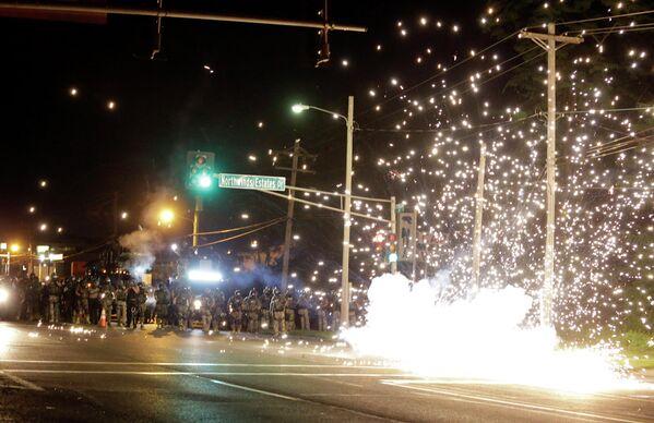 Беспорядки в Сент-Луисе, США