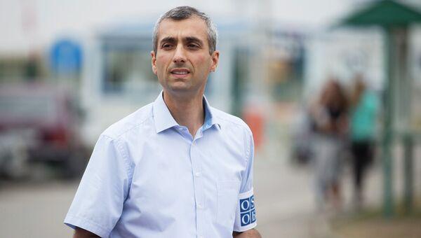 Руководитель миссии ОБСЕ Поль Пикар. Архивное фото