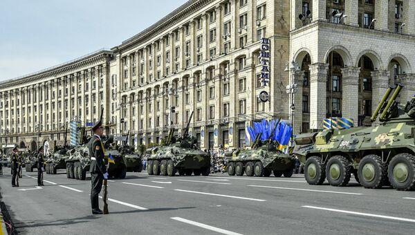 Празднование Дня Независимости Украины. Архивное фото
