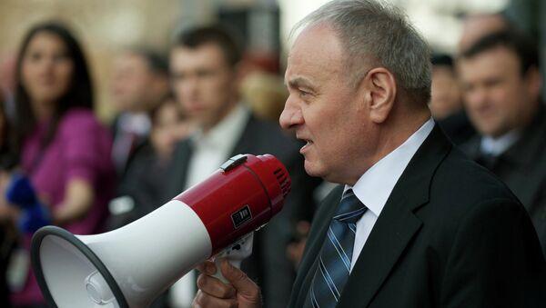 Президент Молдавии Николай Тимофти