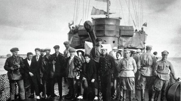 Съемочная группа фильма Броненосец Потемкин. Архив