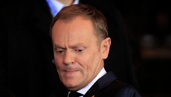 Избранный председатель Евросовета Дональд Туск