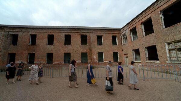 Траурные мероприятия, посвященные 10-й годовщине трагедии в Беслане