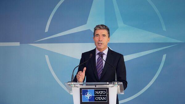 Генеральный секретарь НАТО Андерс Фог Расмуссен. Архивное фото
