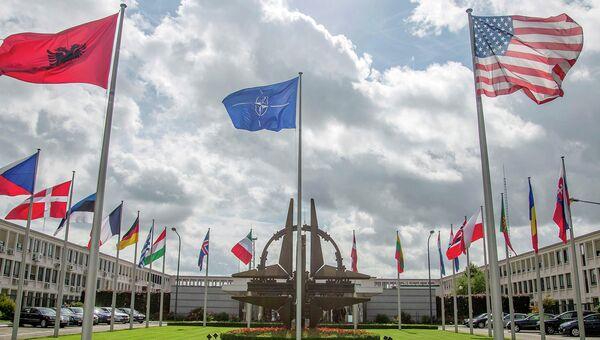 Штаб-квартира НАТО в Брюсселе. Архивное фото.