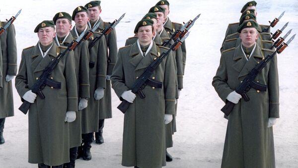 Солдаты литовской армии