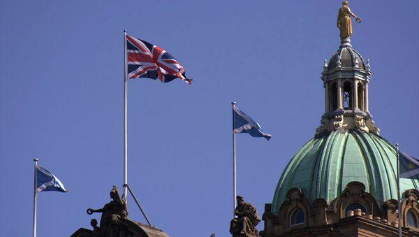 Город Эдинбург. Архивное фото