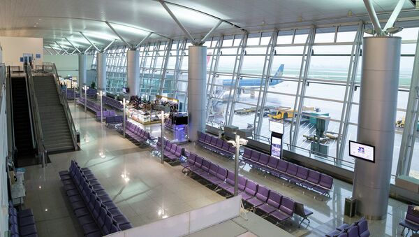 Аэропорт Хошимина, Таншоннят. Архивное фото