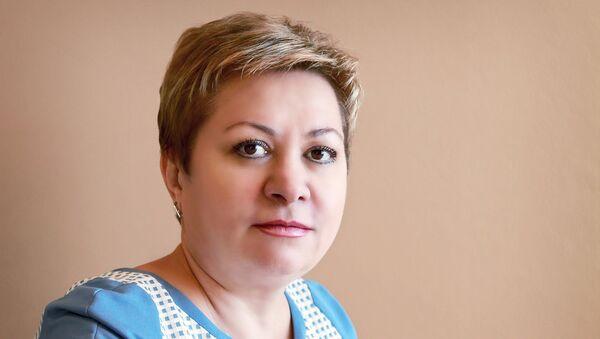 Министр социального развития и труда Астраханской области Екатерина Лукьяненко