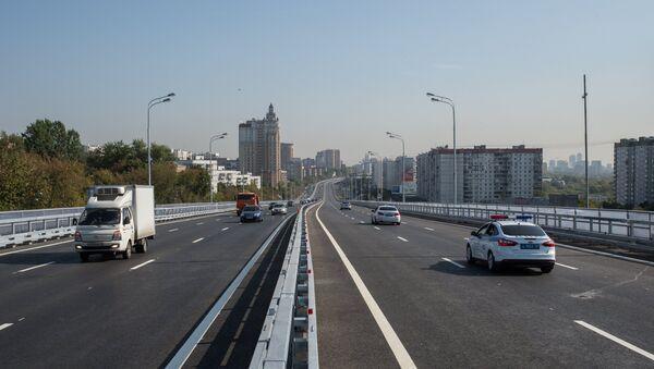 Дорога в Москве. Архивное фото