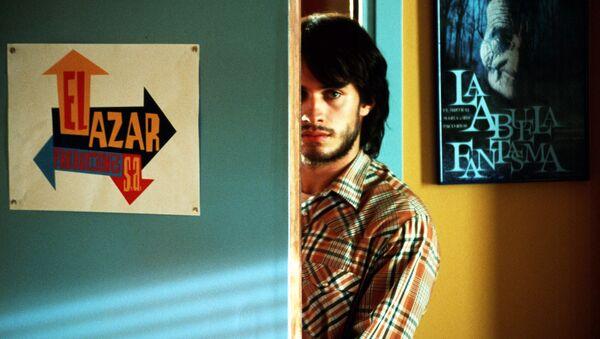Кадр из фильма Дурное воспитание, 2004