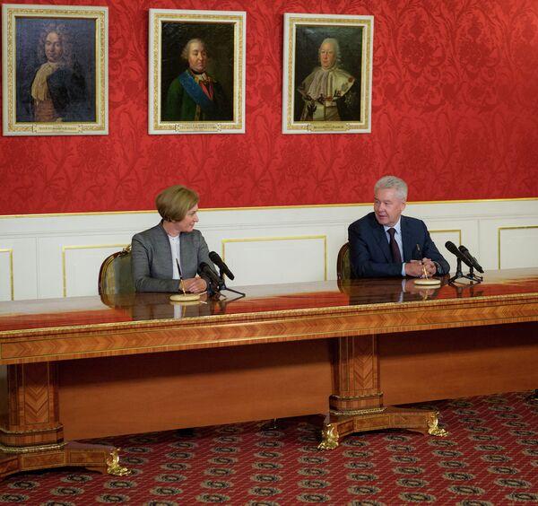 Подписание Соглашения о взаимодействии между Правительством Москвы и Роспотребнадзором