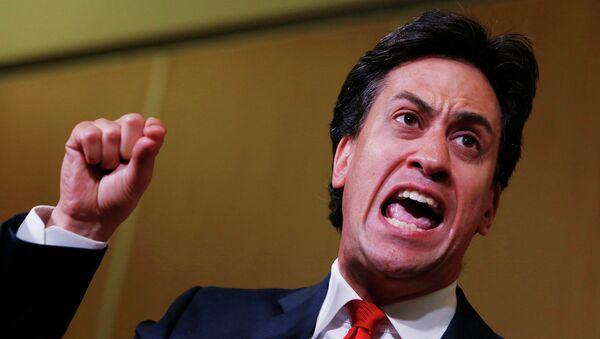 Лидер британских лейбористов Эд Милибанд. Архивное фото