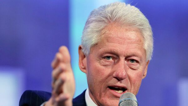 Бывший президент США Билл Клинтон. Архивное фото