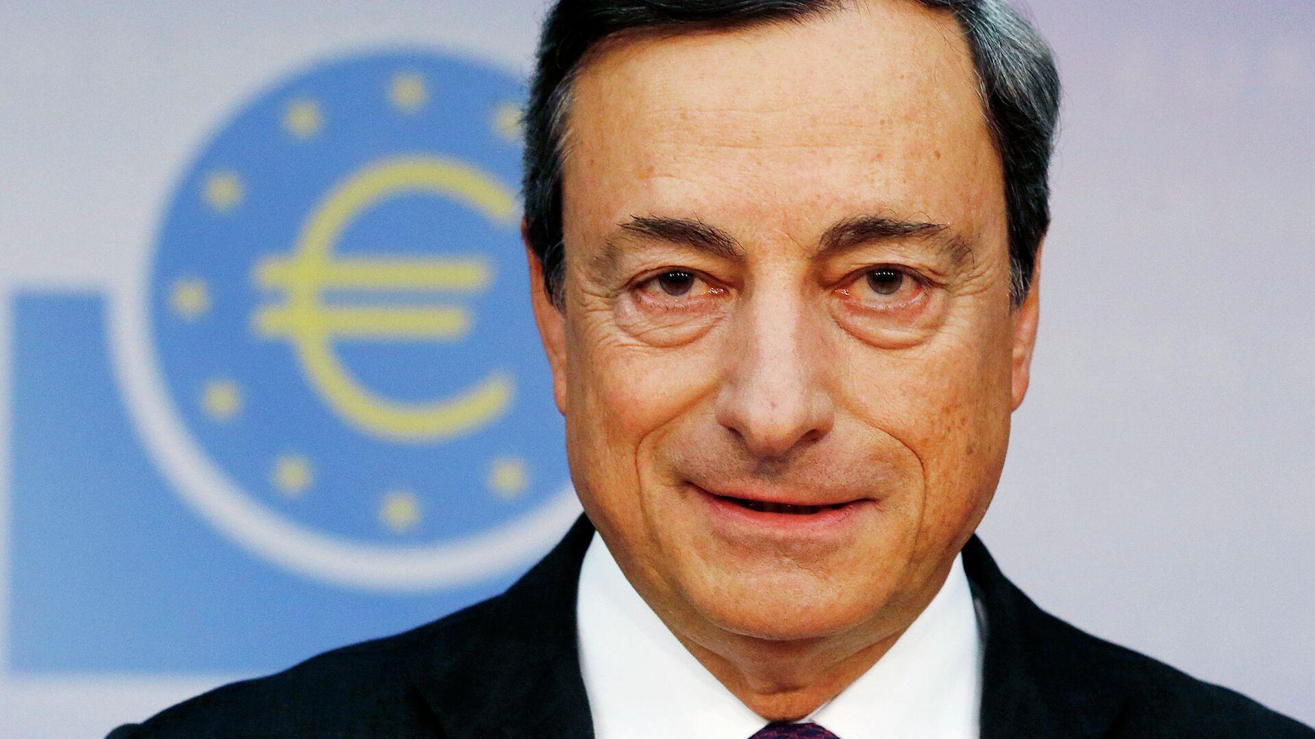 Глава ЕЦБ Марио Драги - РИА Новости, 1920, 15.02.2021