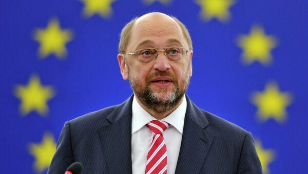 Председатель Европарламента Мартин Шульц. Архивное фото