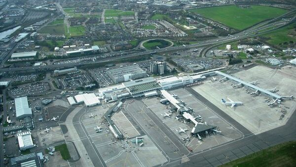 Международный аэропорт Глазго. Архивное фото
