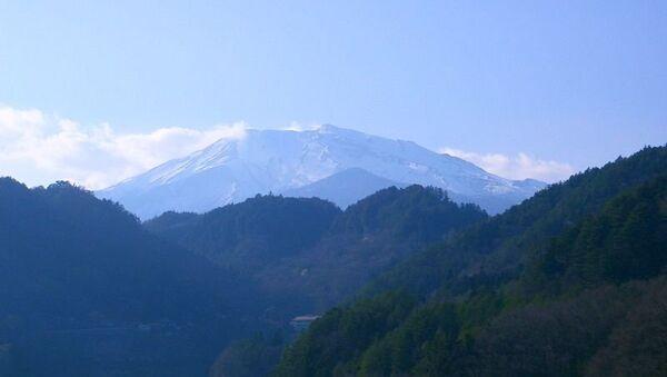 Гора Онтакэ, Япония. Архивное фото
