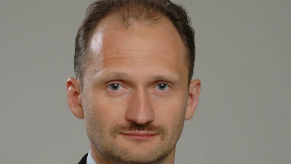 Один из лидеров партии Русский союз Латвии Мирослав Митрофанов. Архивное фото