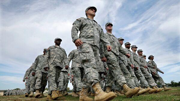 Американские солдаты, архивное фото