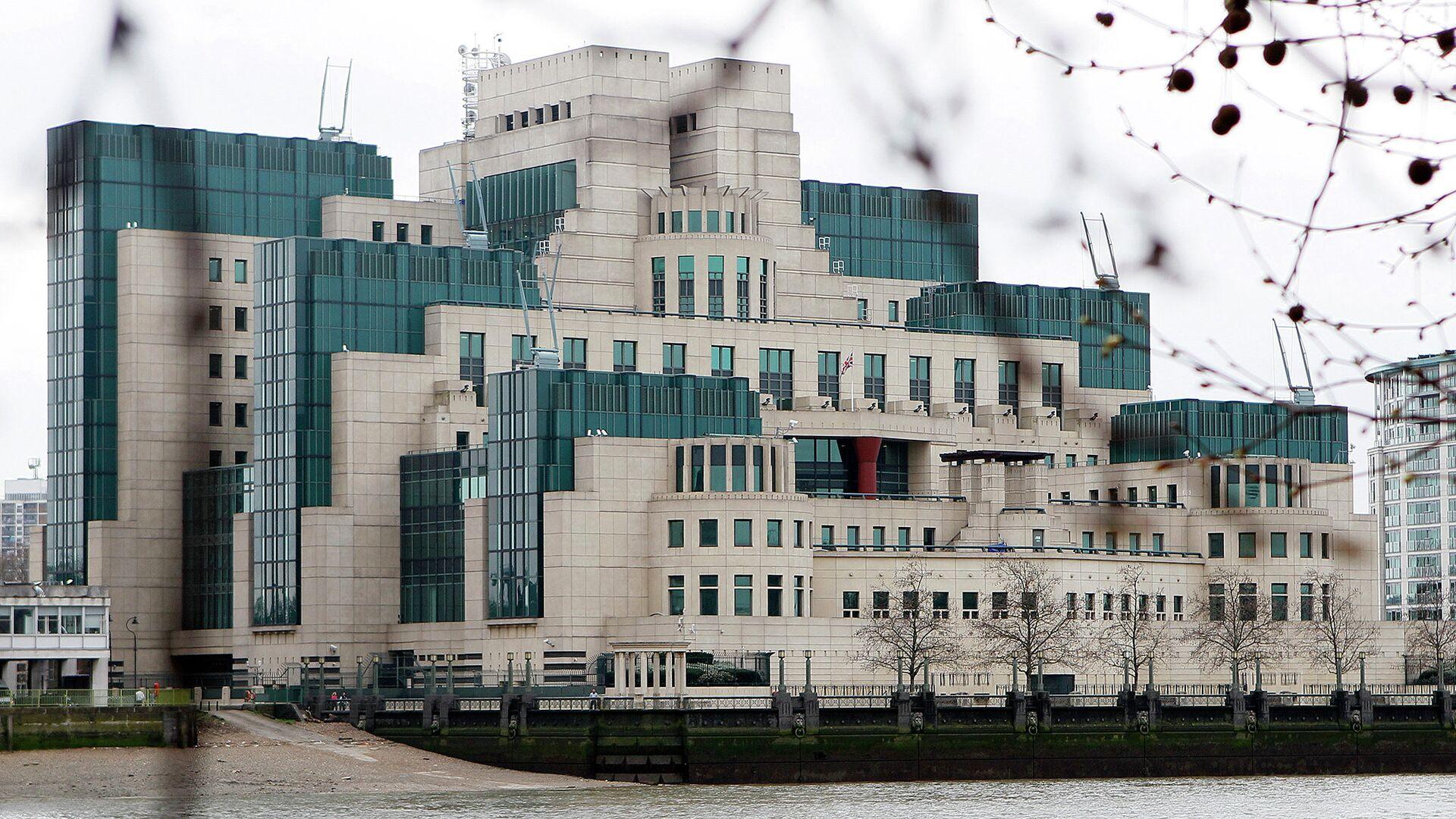 Штаб-квартира внешней разведки Великобритании MI6 в Лондоне - РИА Новости, 1920, 14.07.2021
