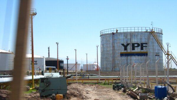 Аргентинская нефтегазовая компания YPF. Архивное фото