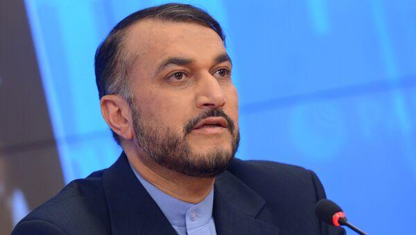 Заместитель министра иностранных дел Исламской республики Иран Хосейн Амир Абдоллахийан, Архивное фото
